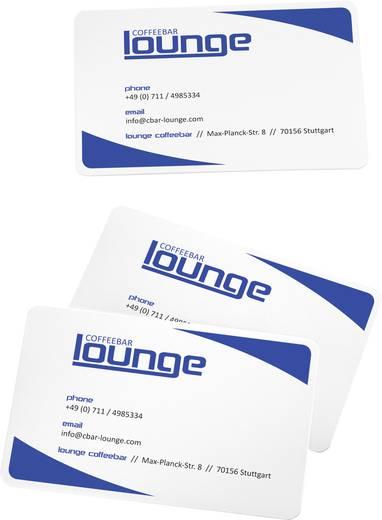 Sigel Bedruckbare Visitenkarten, glatte Kanten LP798 85 x 55 mm Hoch-Weiß 100 St. Papierformat: DIN A4