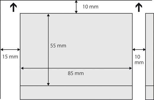 Sigel Bedruckbare Visitenkarten, glatte Kanten LP798 85 x 55 mm Hoch-Weiß 225 g/m² 100 St. Papierformat: DIN A4