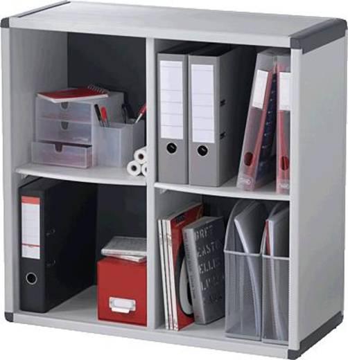 Fastpaperflow Büroregale/BM4K2.11 H778xB651xT330 mm grau/anthrazit