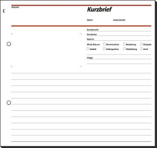 Sigel Kurzbrief/SD009 2/3 A4 Inh.50 BL