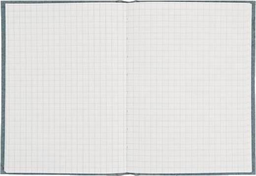 K + E Geschäftsbuch Deckenband/8616222-100P96 A6 kariert 80 g/qm Inh.96 Blatt