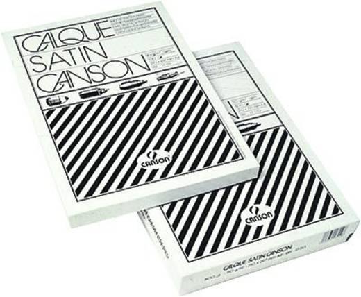 Canson Zeichenpapier DIN A4 Transparent 17120 Inhalt 100 St.