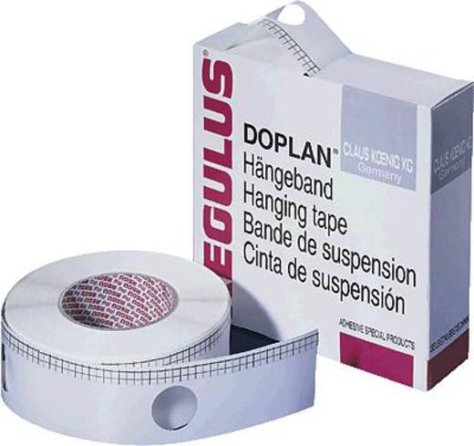 Regulus Tragebänder Doplan®/TD60 55mmx50m weiß 60mm Lochabstand 150µ