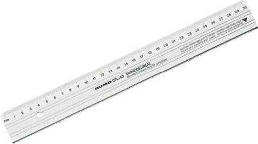 Rumold Schneide-Lineale/639/30 30cm silber Aluminium