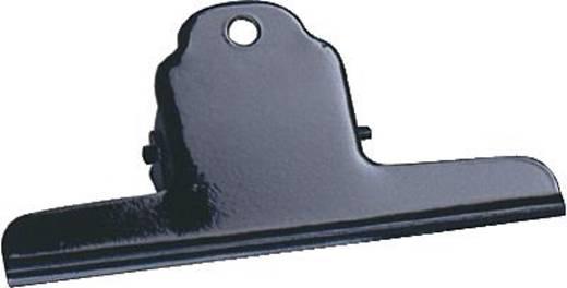 Alco Briefklemmer/770-11 75mm schwarz Metall