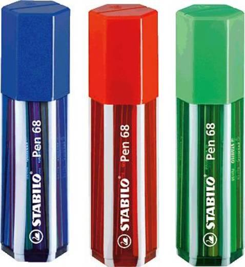 STABILO® Big Pen Box, Fasermaler/6820-1 1 mm sortiert Inh.20