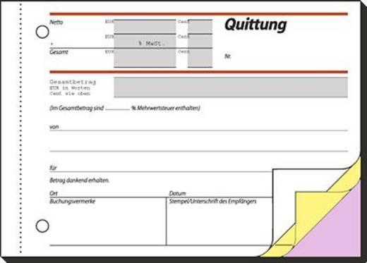 Sigel Quittung/SD023 A6 q Inh.3x40 BL