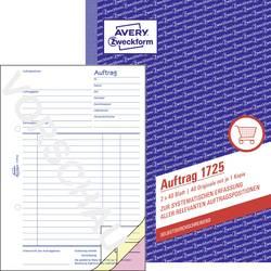 Image of Avery-Zweckform Auftragsformular 1725 DIN A5 hoch Anzahl der Blätter: 80