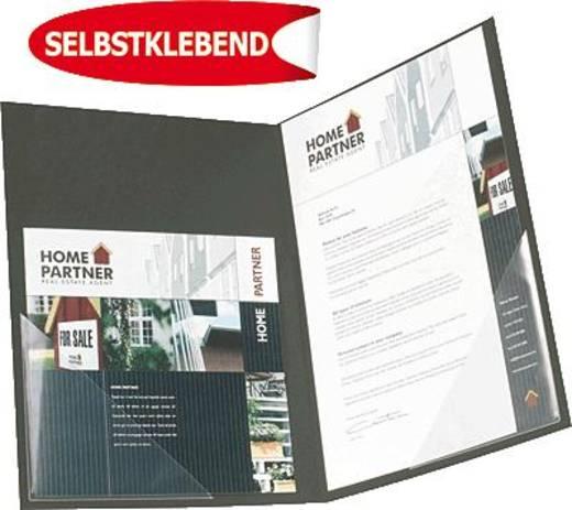 3L Dreiecktaschen/10011 100x100mm transparent Inh.12