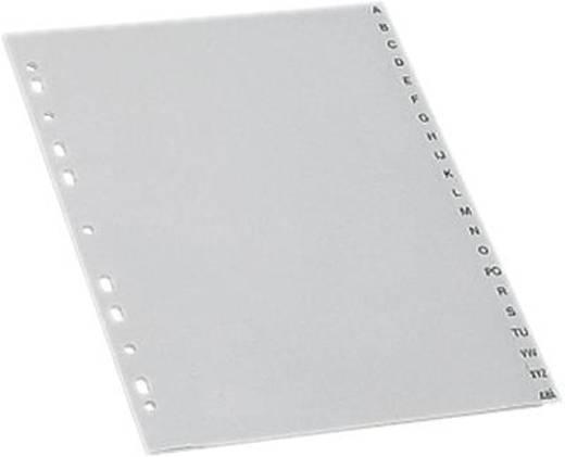 5 Star Maxi Register A4 Übergröße grau A-Z 297x245mm 120µ