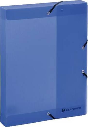Exacompta Dokumentenbox Linicolor/59772E 320x24mm blau Polypropylen
