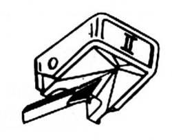 Diamantová jehla prvotřídní kvality GP 400 II/401 II/412