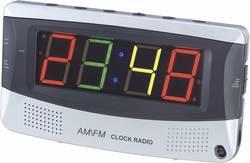 Radio-réveil avec écran multicolore