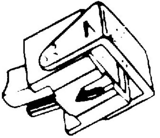 HiFi Plattenspielernadel für Ortofon F/FF/N/NF