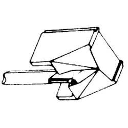 Diamantová jehla GP 400/401/412