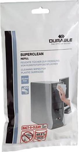 DURABLE ReinigungstücherSUPERCLEAN refill / Nachfüllpack/5709-02 Inh.100