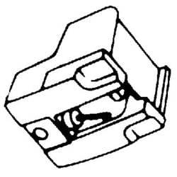 Hi-Fi gramofónová ihla ATN 70/71/72, Ihla sféricky brúsená