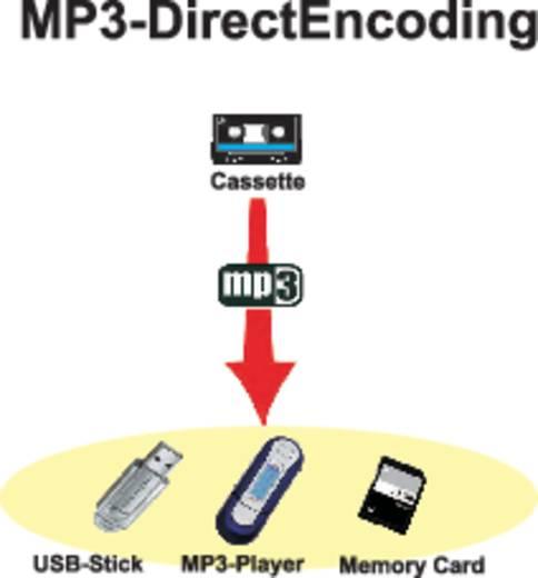 Kassetten Digitalisierer Reflexion HRA-4050 Integriertes Mikrofon
