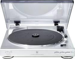 Gramofon Dual CS 410, řemínkový pohon, stříbrná