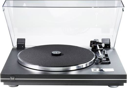 Plattenspieler Dual CS 455-1 Riemenantrieb Schwarz