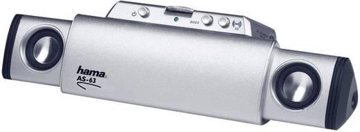 hama as 63 mobiler mini lautsprecher f r mp3 player smartphones notebooks silber kaufen. Black Bedroom Furniture Sets. Home Design Ideas