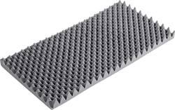Akustická pěna S2640F, (d x š x v) 1000 x 500 x 60 mm, antracitová