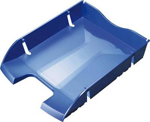 helit Briefablage A4 - C4, PET, nestbar, blau/H2363534 A4 - C4 blau