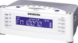 FM radiobudík Sangean RCR-22, AUX, SV, FM, bílá, stříbrná
