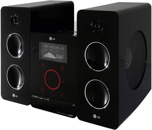 Stereoanlage LG Electronics FA-162 AUX, CD, MW, UKW, USB, Schwarz