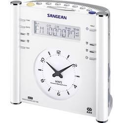 FM radiobudík Sangean Atomic 30, AUX, SV, FM, bílá