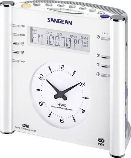 UKW Radiowecker Sangean RCR-3 AUX, MW, UKW Weiß
