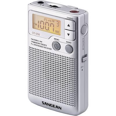 UKW Taschenradio Sangean Pocket 250 MW, UKW Silber Preisvergleich