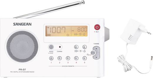 UKW Kofferradio Sangean PR-D7 MW, UKW Weiß