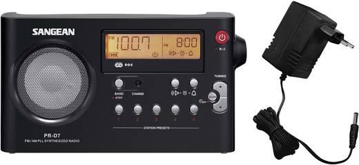 UKW Kofferradio Sangean PR-D7 MW, UKW Schwarz
