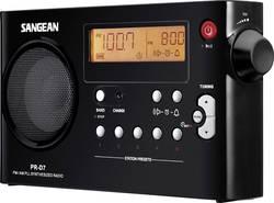FM prenosné rádio Sangean PR-D7 PR-D7 MW, UKW, čierna