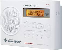 DAB+ prenosné rádio Sangean DPR-69+, DAB+, UKW, biela
