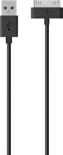 iPad/iPhone/iPod Datenkabel/Ladekabel [1x USB 2.0 Stecker A - 1x Apple Dock-Stecker 30pol.] 1.2 m Schwarz Belkin