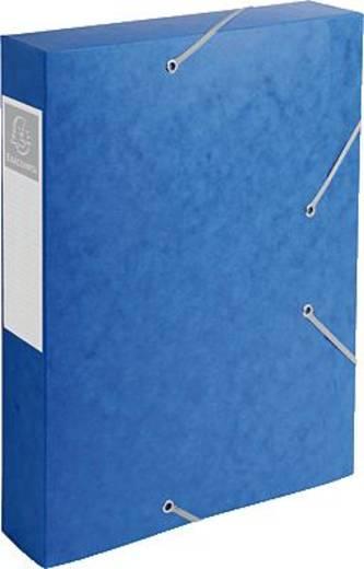 Exacompta Dokumentenboxen CARTBOX /16005H 60 mm blau