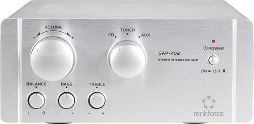 Renkforce SAP-702 Stereo-Verstärker 2 x 20 W Aluminium kaufen