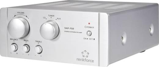 Stereo-Verstärker Renkforce SAP-702 2 x 20 W Aluminium