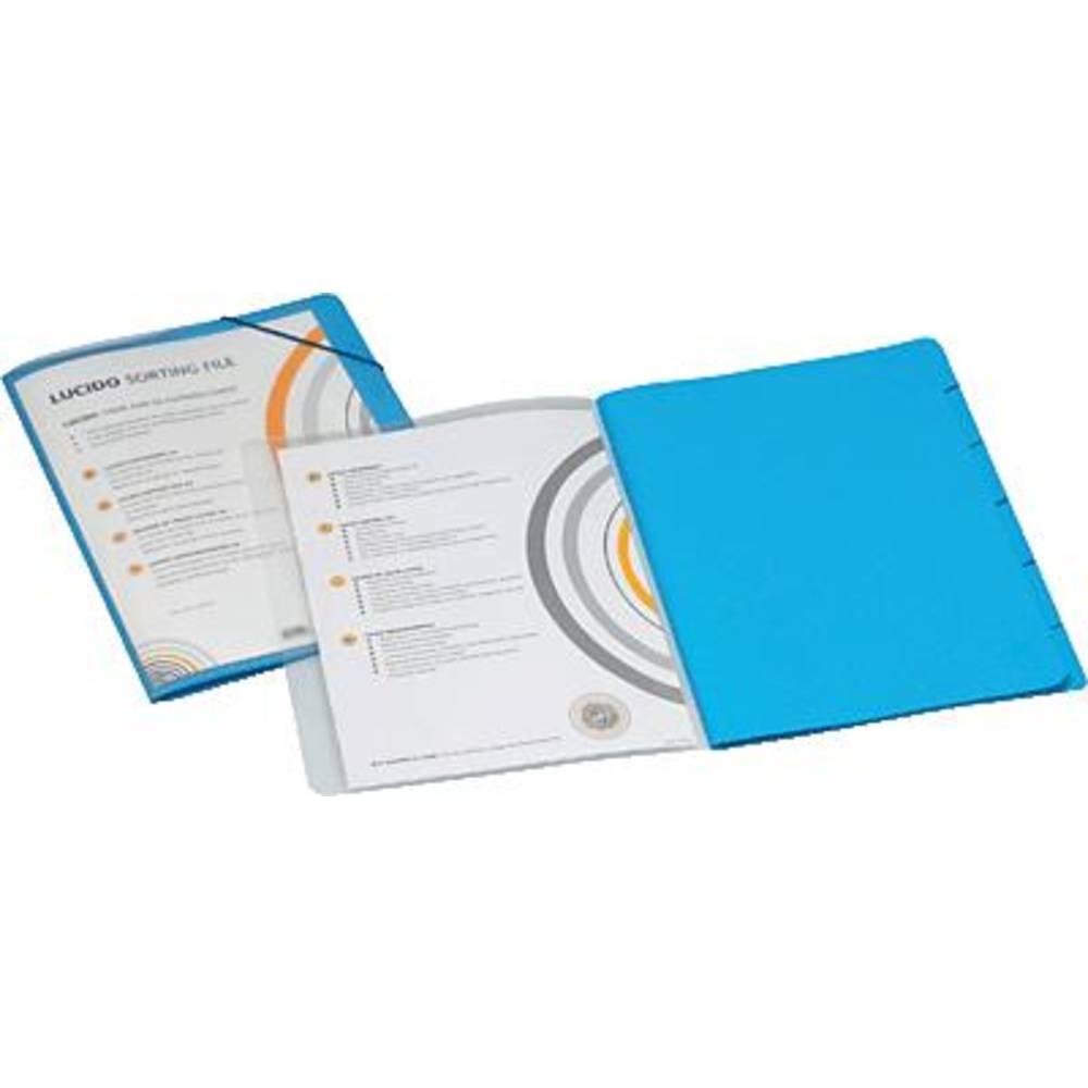 trieur de documents jalema lucido 1400602 din a4 bleu pp carton 270 g m sur le site. Black Bedroom Furniture Sets. Home Design Ideas