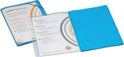 Jalema Ordnungsmappe Lucido/1400602 DIN A4 blau PP / Karton 270 g/qm