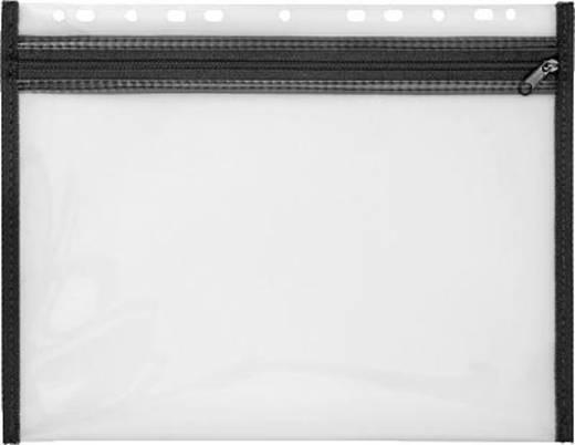 Veloflex Reißverschlusstasche 4354080 DIN A4 Schwarz 1 St.