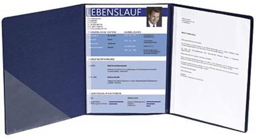 Exacompta Bewerbungsmappen Leinenstruktur/49407B dunkelblau 400 g/qm