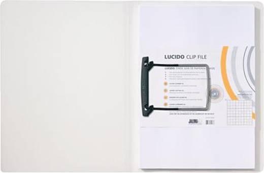 Jalema Clipmappe Lucido/1401030 DIN A4 weiß/transparent PP