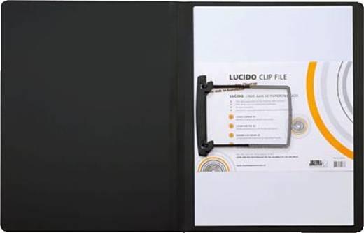 Jalema Clipmappe Lucido/1401019 DIN A4 schwarz PP