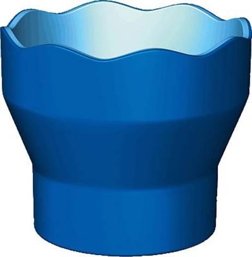 FABER-CASTELL Wasserbecher CLIC & GO/181510 blau