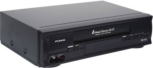 funai d50y 100m vhs recorder kaufen. Black Bedroom Furniture Sets. Home Design Ideas