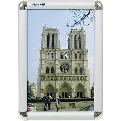 Franken BS0701 Bilderwechselrahmen Transparent, Silber (B x H x T) 240 x 327 x 12 mm DIN A Preisvergleich