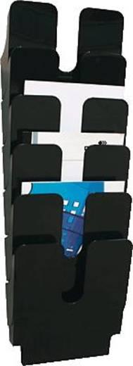 Durable Präsentationsständer schwarz VE6